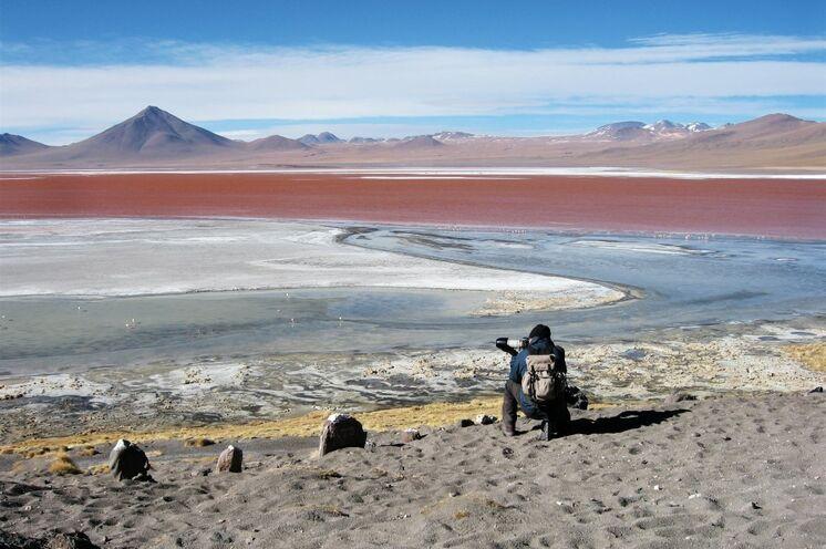 Laguna Colorado im Nationalpark Avaroa – ein Eldorado für Fotografen und Naturgenießer!