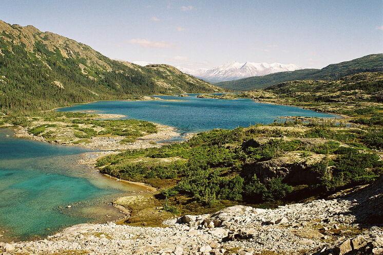 Grandiose Naturszenarien – hier der Deep Lake