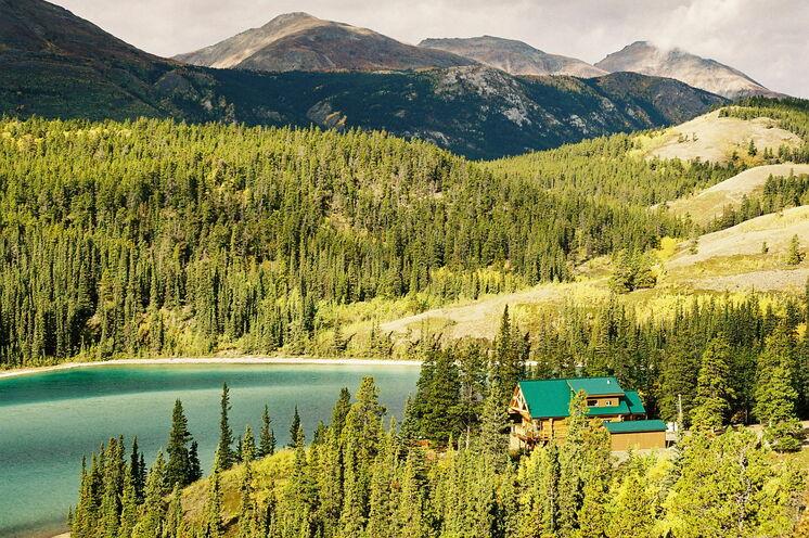 Der traumhaft schöne Emerald See am Rande des Chilkoot Trail