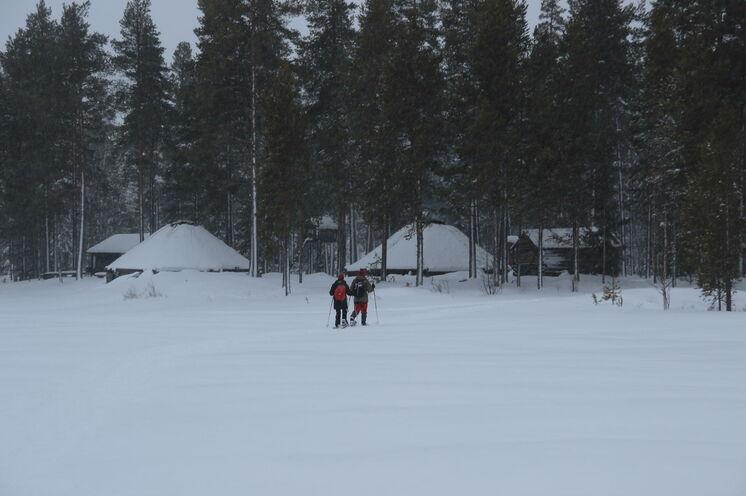 Das Wildniscamp Tjäkkjokk