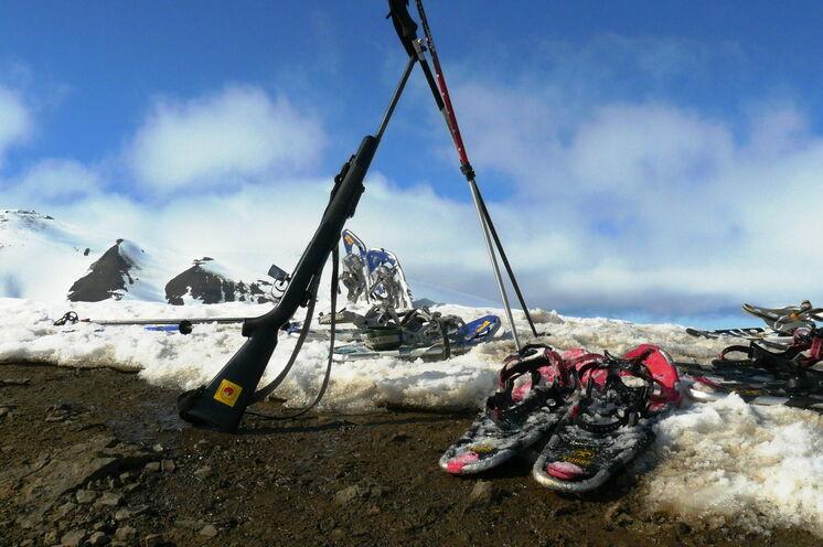 Berg- und Gletscherwanderung