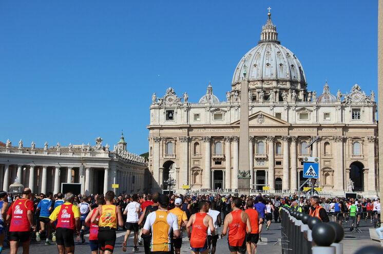 Der Rom-Marathon gilt als eine der schönsten Marathonstrecken weltweit