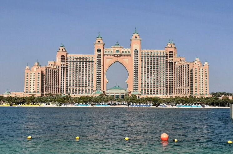 Hotel Atlantis auf der Palmeninsel - ein Hotel der Superlative