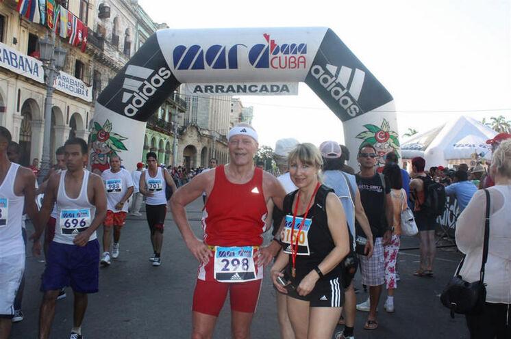 Für die Halbmarathonis ist nach einer Runde das Ziel erreicht
