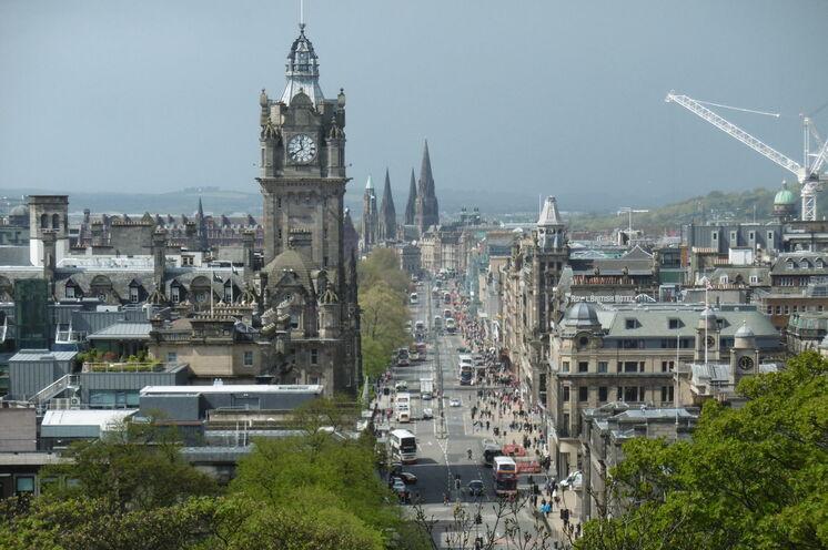 Edinburgh - der Endpunkt Ihrer Reise