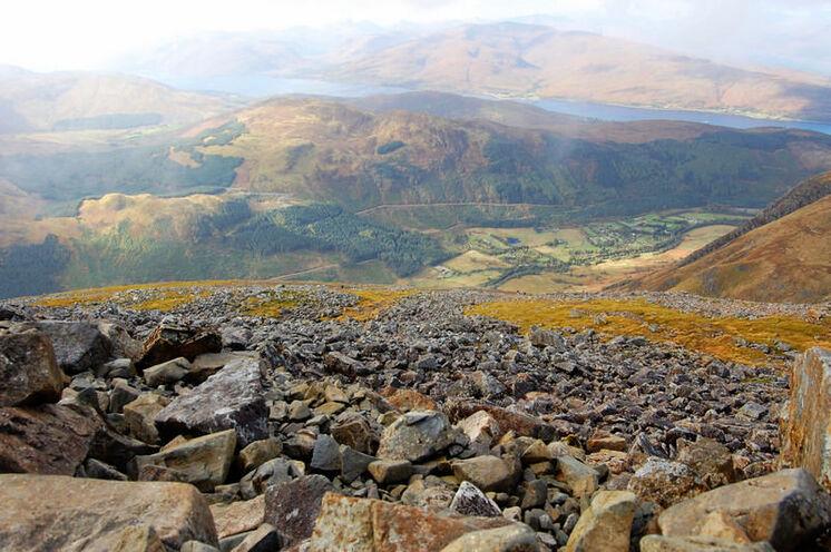 Beim Wandern in Schottland: Das Farbspiel der Natur ist immer wieder faszinierend