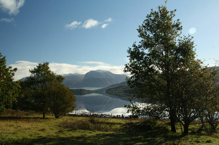 Blick über die schottische Seenlandschaft in den Western Highlands