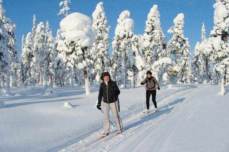 Die Route ist geprägt durch unberührte, friedliche und einzigartige Natur voller Schnee und Eis.