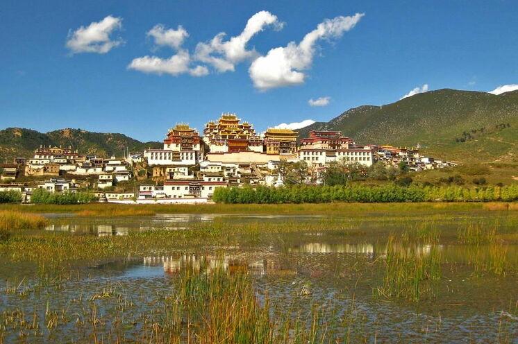 Songzanling-Kloster - Sie übernachten direkt nebenan