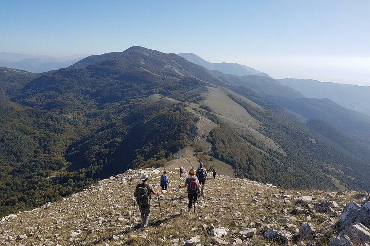 Abstieg Monte Cocuzzo