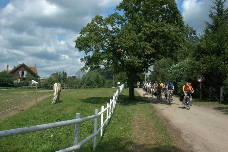 Tagesetappen per Rad (15 bis 60 km)