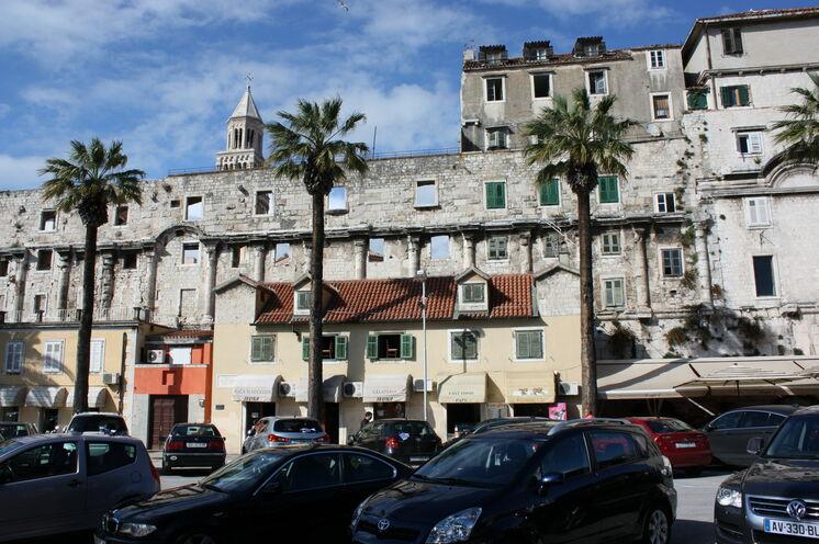 Das Schloss von Split (UNESCO-Welterbe)