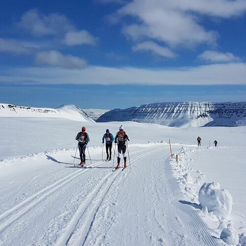 Fossavatn - Der Worldloppet auf Island