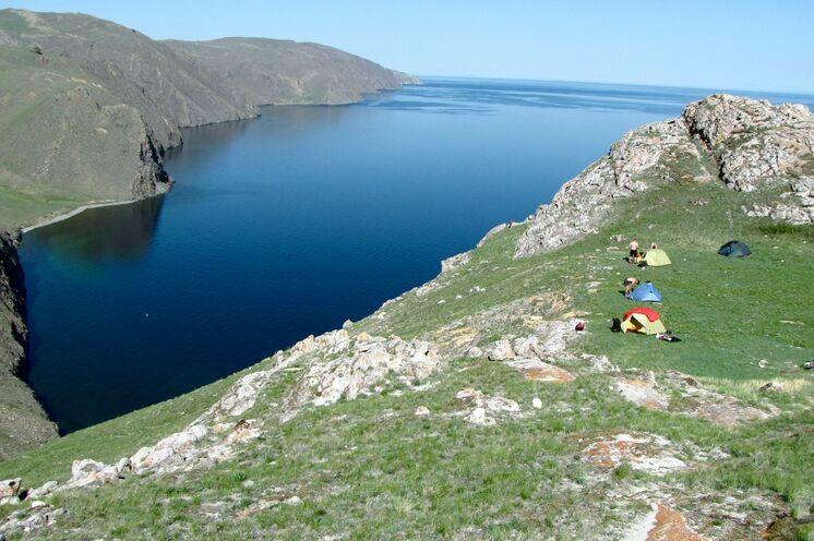 Wunderschöne Plätze zum Zelten! Hier in der Tascheran-Steppe