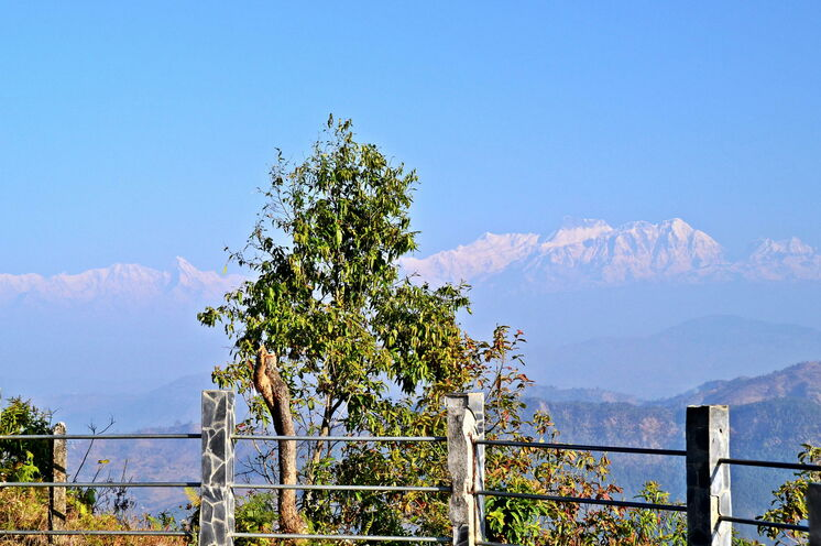 Panoramblick von Bandipur
