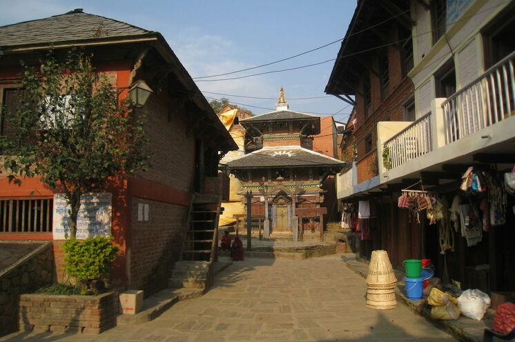 Entdecken Sie die alte, malerische Newarstadt Bandipur