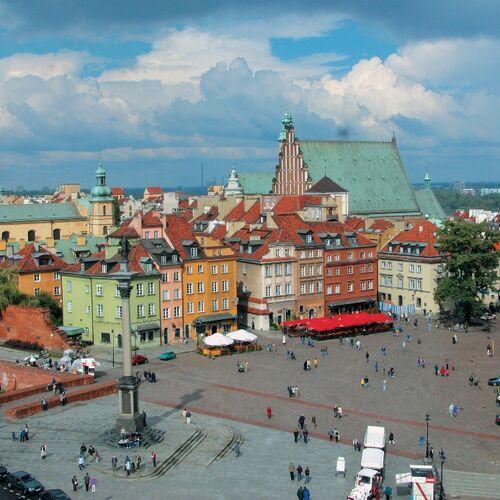 Radtour nördliche Weichsel - von Warschau bis Danzig