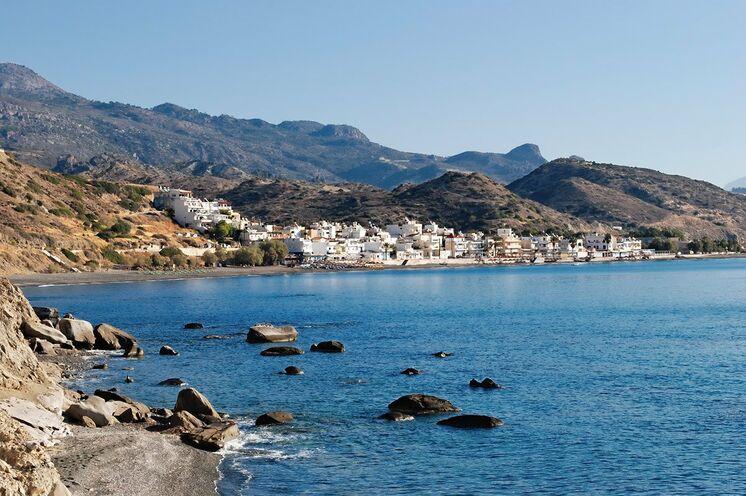 Mirtos an der stets sonnigen Südküste: Ihr zweiter Standort dieser Reise