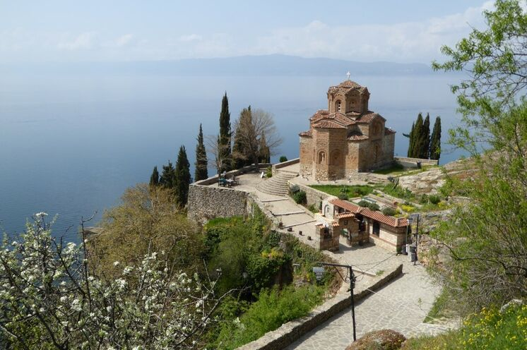 Reiseausklang am Ohrid-See (UNESCO-Welterbe)