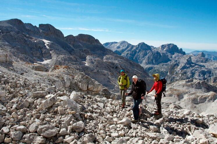 Wandern in den noch wilden Gebirgsregionen des Balkan