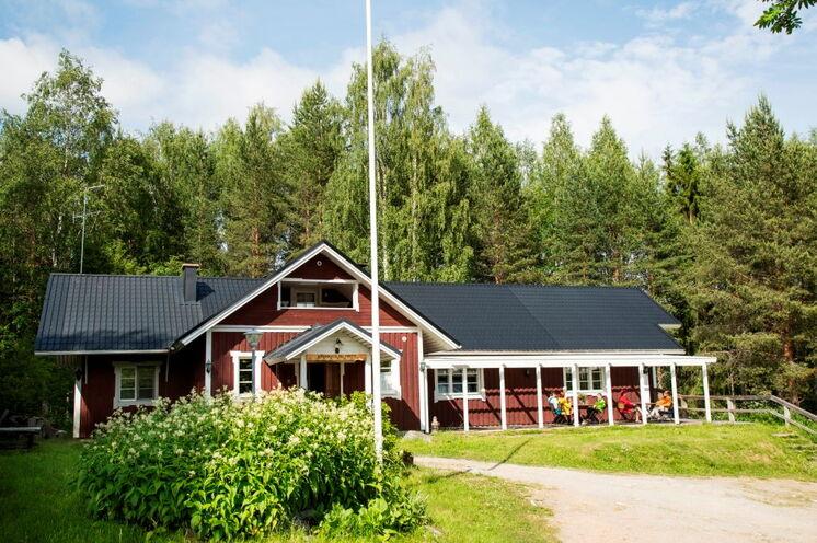 Das dritte Gasthaus der Tour, Männikkölän Pirtti