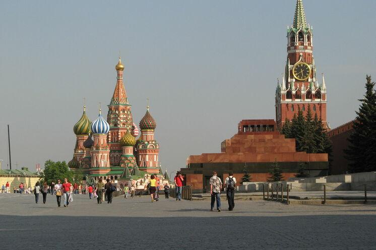 Auf dem Hin- oder Rückweg eine interessante Option: Moskau erleben...