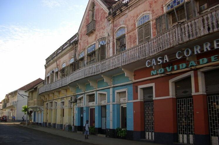 Koloniale Architektur in der Hauptstadt