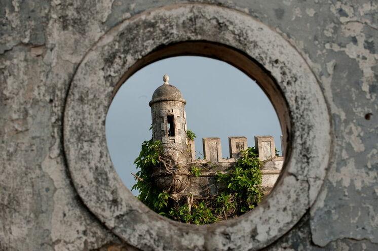 Die Roç Sundy auf der kleinen Schwesterinsel Príncipe