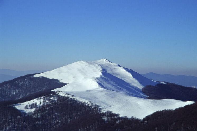 Das Bieszczady-Gebirge mit seinen unbewaldeten Höhen bietet immer wieder wunderschöne Blicke in die Ferne