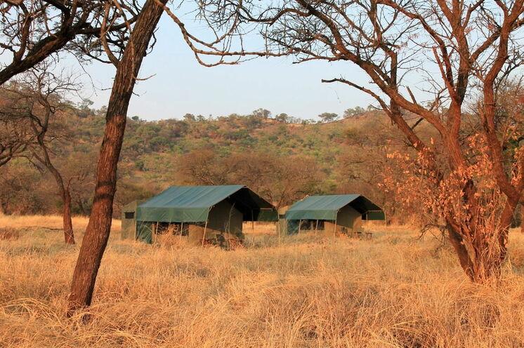 In der Serengeti übernachten Sie stilecht in einem komfortablen Zeltcamp