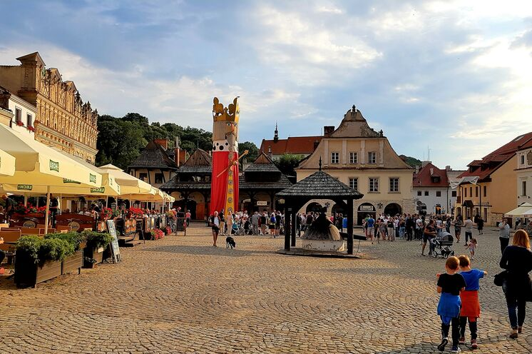 Marktplatz von Kazimierz Dolny
