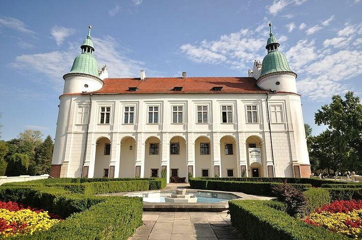 Herrliches Schloss in Baranów Sandomierski (3. Tag)