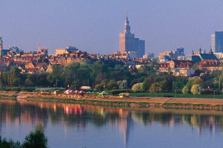 Am 7. Tag erreichen Sie die polnische Hauptstadt Warschau