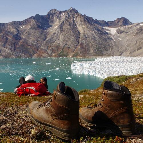 Eisperle in der Arktis