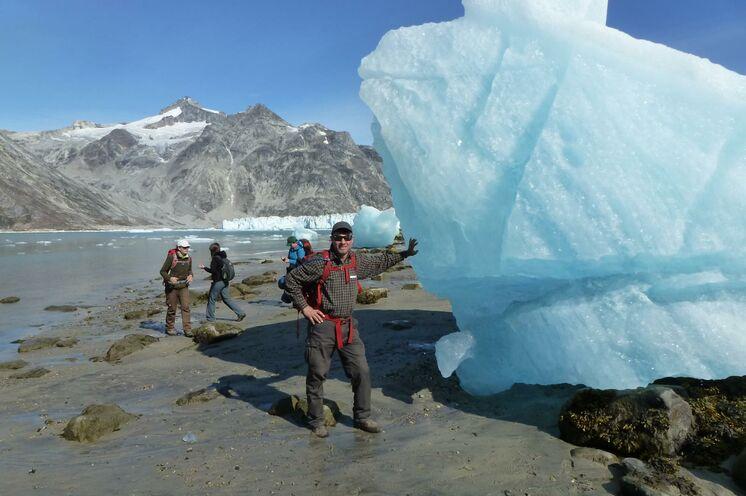Grönländische Eiswürfel