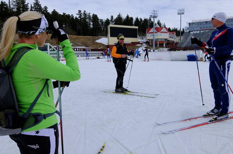 Natürlich auch das Original der weltbekannten Biathlonrunden getestet. Fazit: geniale Anlage. Und Khanty immer einen Besuch wert!!!