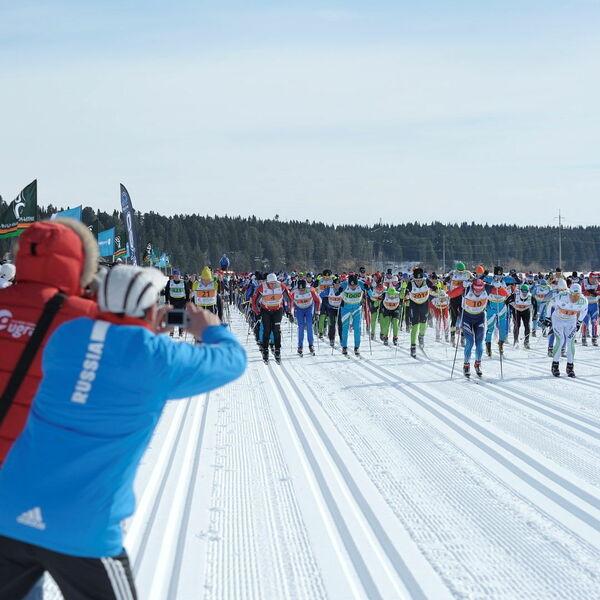 Ugra Ski Marathon in Khanty Mansiysk