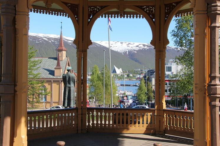 Unser Citywalk führt durch Tromsös Zentrum und Geschichte....