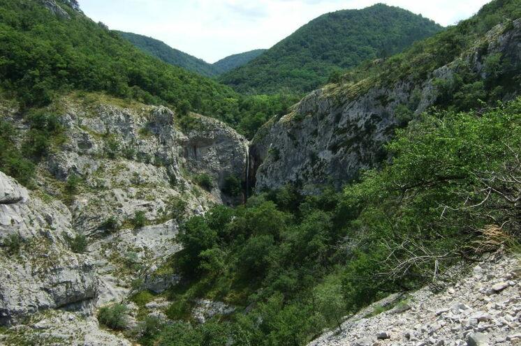 Unterwegs im Naturschutzgebiet Val Rosandra bei Triest