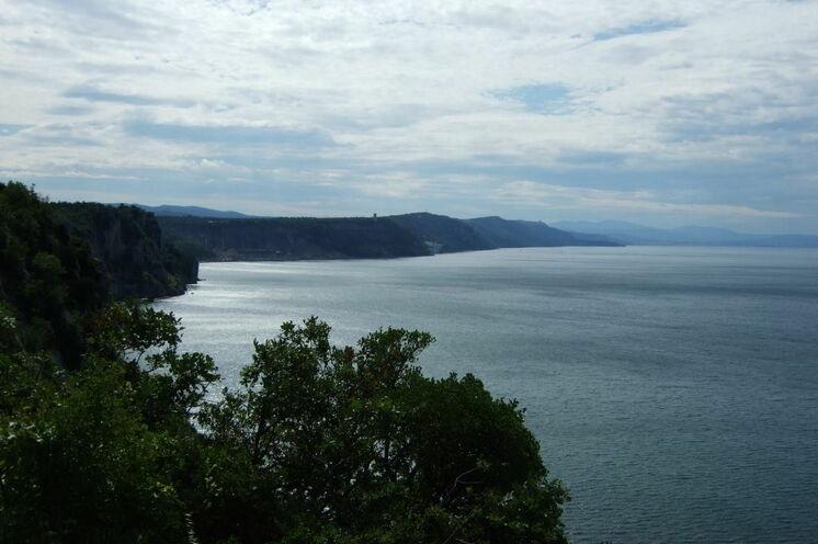 Am 7. Tag erreichen Sie die Adria und können den Blick über das Meer schweifen lassen