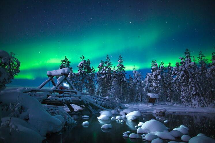 Die Polarlichter verzaubern jeden, der das große Glück hat, sie zu sehen