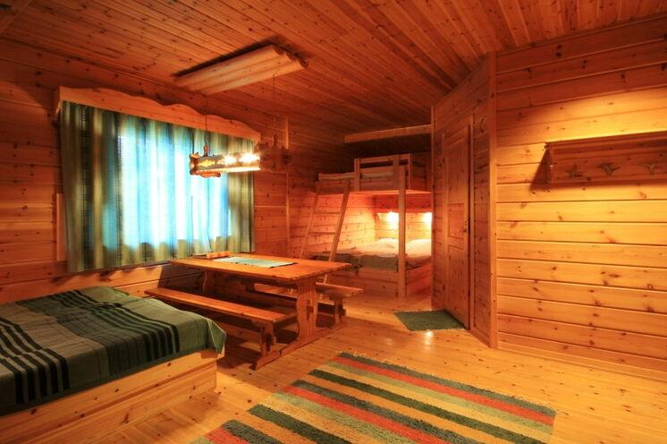 In der Huskyfarm übernachten Sie in schönen Zimmern