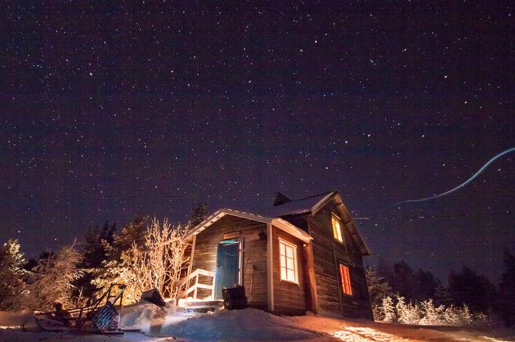 Hüttenromantik pur bei 4 Wildnishüttenübernachtungen