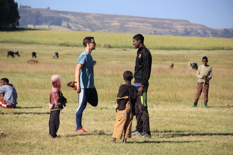 Von den Besten lernen kann man hier in Afrika!