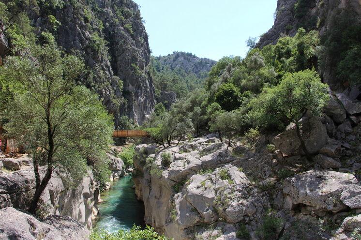 Wanderung im Yazili-Canyon