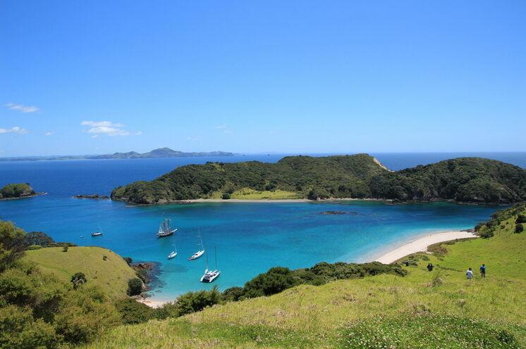 Zunächst führt Sie die Reise ins Northland und in die traumhafte Bay of Island. (Foto: M. Schwarzenberger)