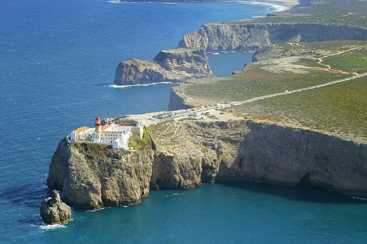 Abseits, aber auch Bekanntes: Cabo de São Vicente - der südwestlichste Punkt des europäischen Festlands