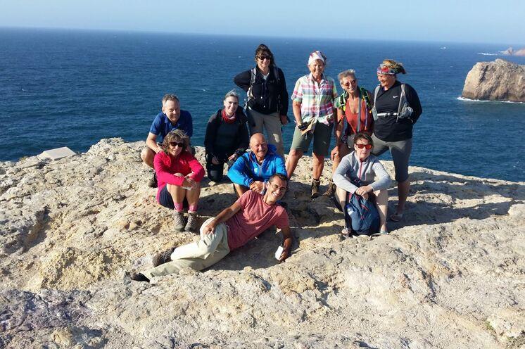 Unsere Reisegruppe mit Reiseleiter Vitor und Firmenchef Frank Schulz im Sept. 20