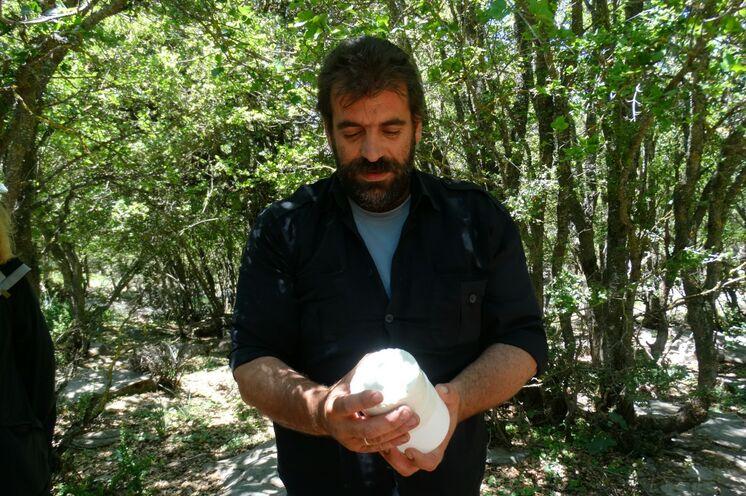 Altes Handwerk der Käseherstellung ist in der Nida-Region zu Hause