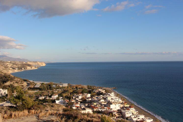 """Mirtos an der Südküste ist Ihre dritte """"Heimat"""". Von hier aus starten Sie weitere erlebnisreiche Tage."""